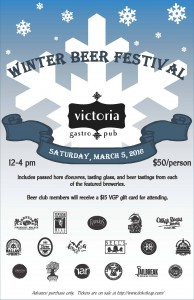 Victoria's Winter Beer Festival
