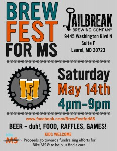 2nd Annual Brew Fest for MS