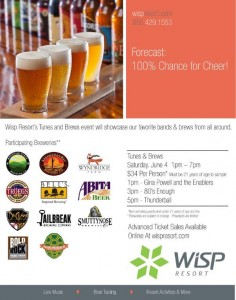 Tunes and Brews at WISP