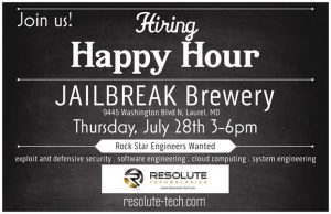 Resolute Technologies Happy Hour