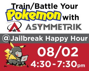 Pokemon Go with Asymmetrik