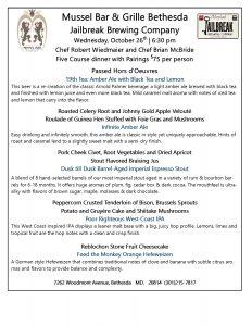 Jailbreak Dinner with Chefs Robert Wiedmaier & Brian McBride