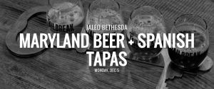 Jaleo Bethesda Beer Dinner