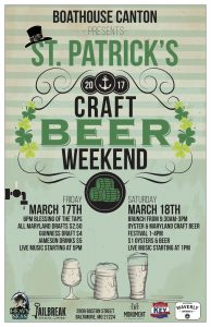 Boathouse Canton Craft Beer Weekend!
