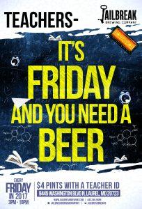 Teacher Friday!
