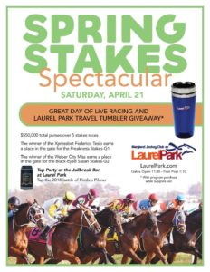 Spring Stakes Spectacular at Laurel Park