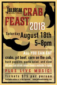4th Annual Crab Feast