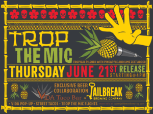 Trop the Mic Draft & Can Release