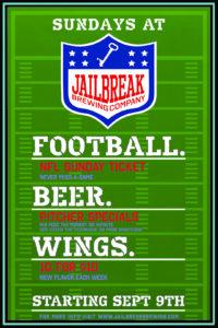 Football Sundays at Jailbreak