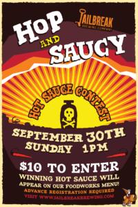 Hop & Saucy: A Jailbreak Hot Sauce Contest