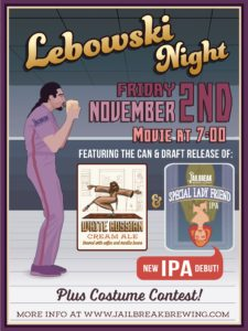 Lebowski Night: White Russian Can + Draft Release