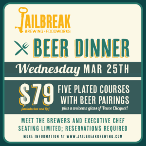 Beer Dinner: March 2020